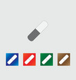 Pill icons vector image vector image