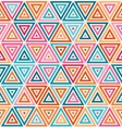 Seamless Pink Orange Blue White Random vector image