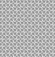 3D white shapes on gray background vector image vector image