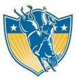 american rodeo cowboy vector image vector image