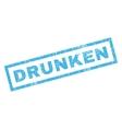 Drunken Rubber Stamp vector image vector image