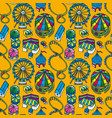 fair seamless pattern vector image