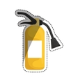 Fire extinguisher equipment vector image vector image