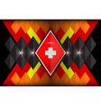 geometric shapes germany vector image
