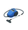 isometric vacuum cleaner isolated on white vector image vector image