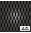 metal grid pattern vector image vector image