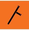 Police baton icon vector image