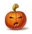 Pumpkins Angry 4 vector image vector image