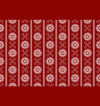 red seamless vintage ornamental pattern vector image vector image