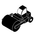 roller truck icon simple style vector image vector image
