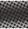 Seamless Black and White Geometric Cross vector image vector image