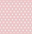 symmetrical seamless pattern with pastel colors vector image vector image