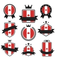 World Flags Series Flag of Canada vector image