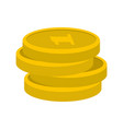 concept coin icon flat style