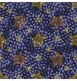 Hand drawn stars doodle seamless pattern Childish vector image