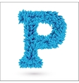 P letter vector image vector image