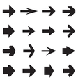 Right arrows vector image vector image