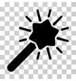 wizard wand icon vector image