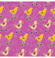 chicks pattern vector image