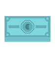 cash money icon flat style vector image vector image