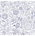 Easter - seamless pattern vector image vector image