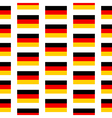 Germany flag seamless pattern vector image