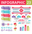 Infographics Elements 23 vector image vector image