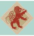 medieval heraldic vector image vector image