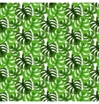 Monstera tropic plant leaves seamless pattern vector image vector image
