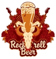 pub with live music and bull skull vector image vector image