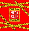 sale banner template design big sale special offer vector image
