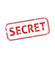 Secret rubber stamp vector image vector image
