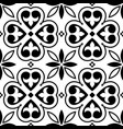spanish tiles pattern moroccan orportuguese tile vector image vector image