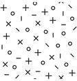 Universal fashion geometric seamless vector image vector image