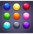 Balls colorful vector image