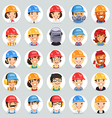 builders icons set1 2 vector image vector image