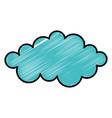 cloud weather flat vector image