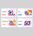 fast speed internet 2x2 design concept vector image vector image