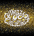 gold dust glitter for design vector image vector image