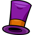 hat clip art cartoon vector image vector image