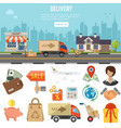 internet shopping banner vector image vector image