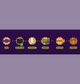 online shopping process timeline halloween banner vector image vector image