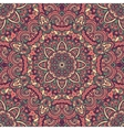 Oriental ornate seamless pattern vector image