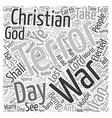 Terror The Lost War text background wordcloud vector image vector image