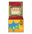 a gaming machine vector image vector image