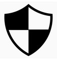 antivirus icon vector image vector image