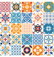 portugal seamless pattern vintage mediterranean vector image vector image