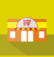 store icon set of great flat icons design vector image vector image