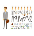 businessman - cartoon people character vector image