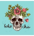 boho chic vector image vector image
